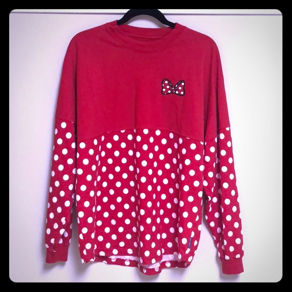 Disney Parks Minnie Mouse Polka Dot Spirit Jersey 91075fca3